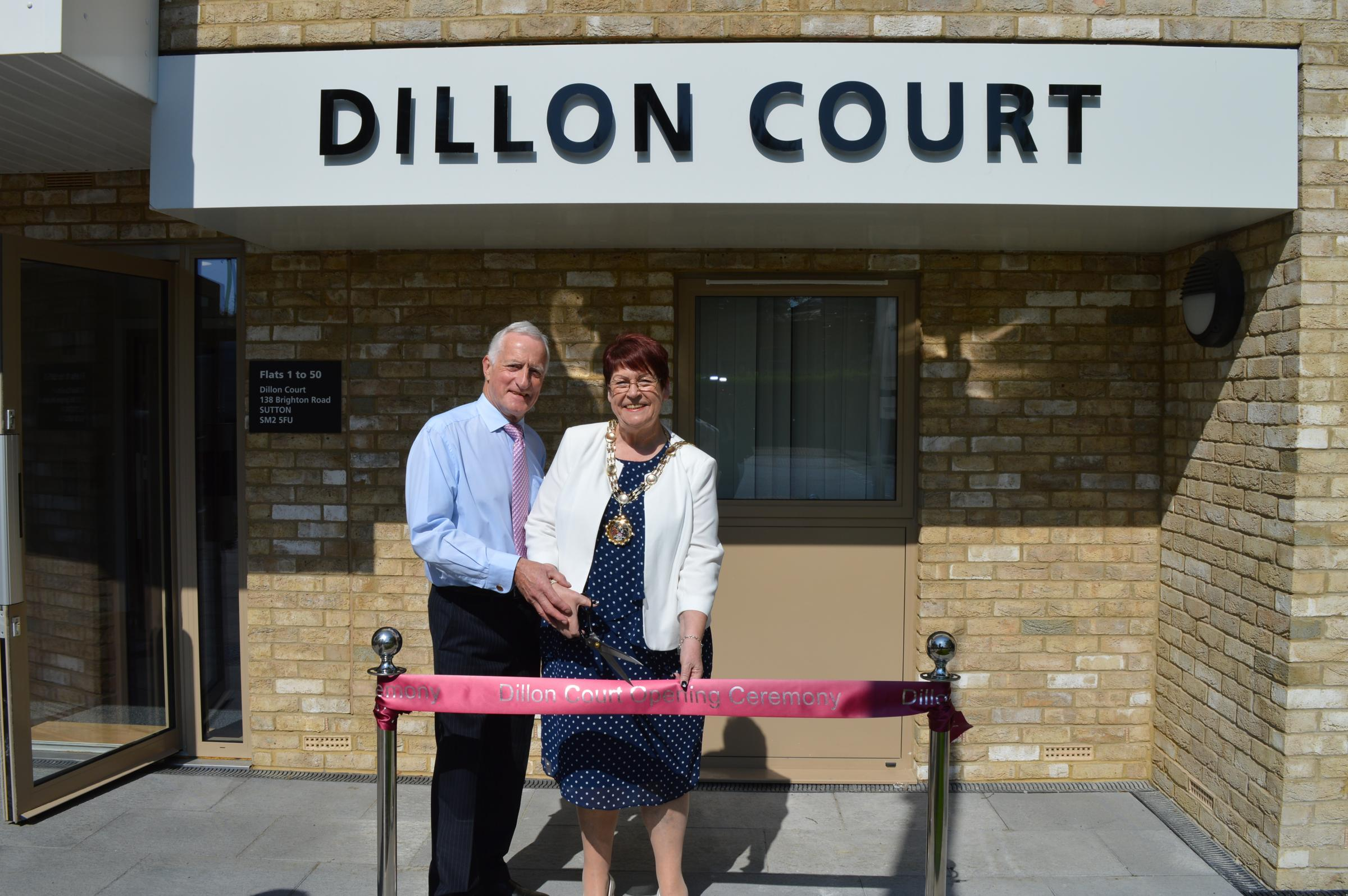 Dillon Court opening ceremony