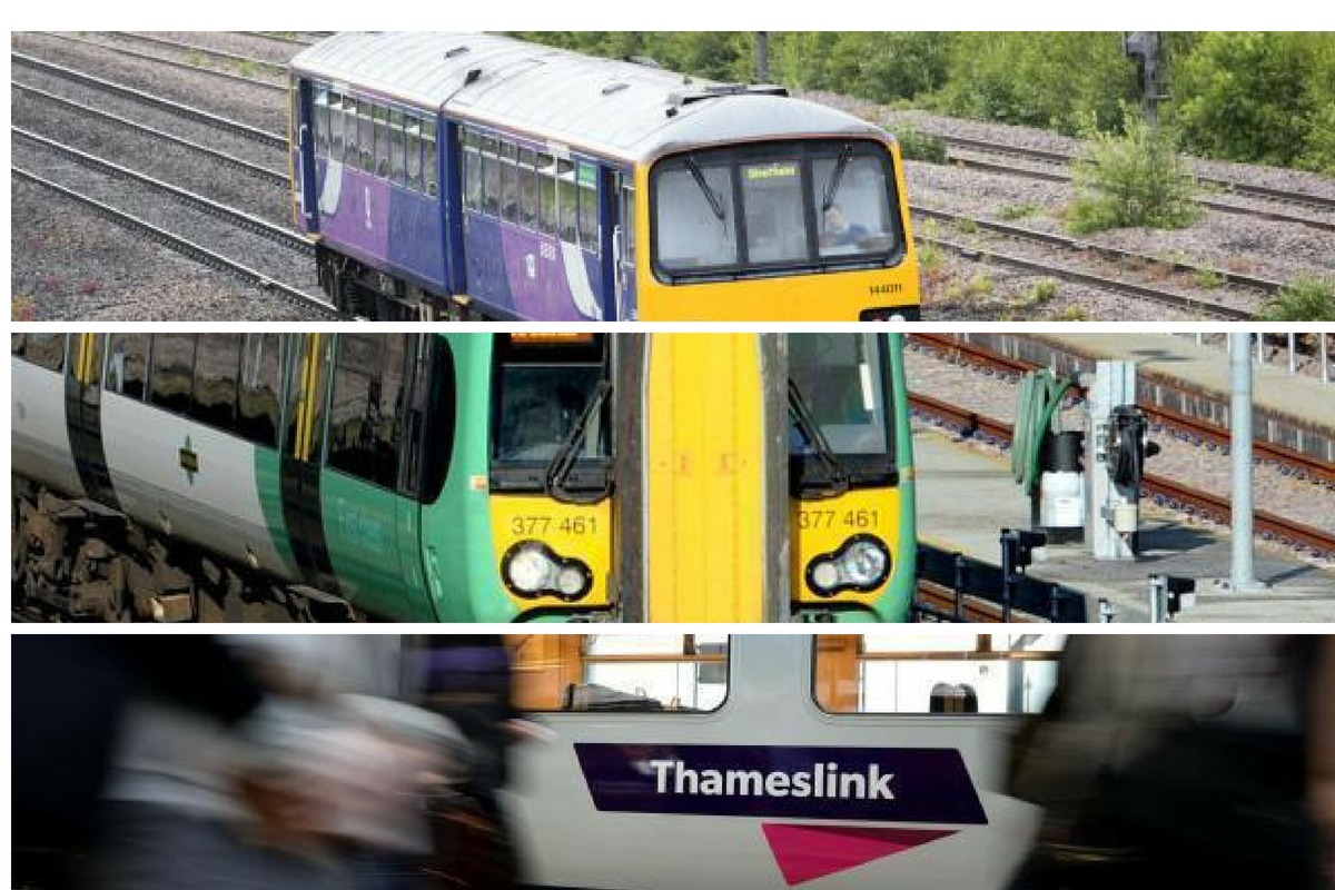 Thameslink, Southern and Great Northern rail networks come under fire