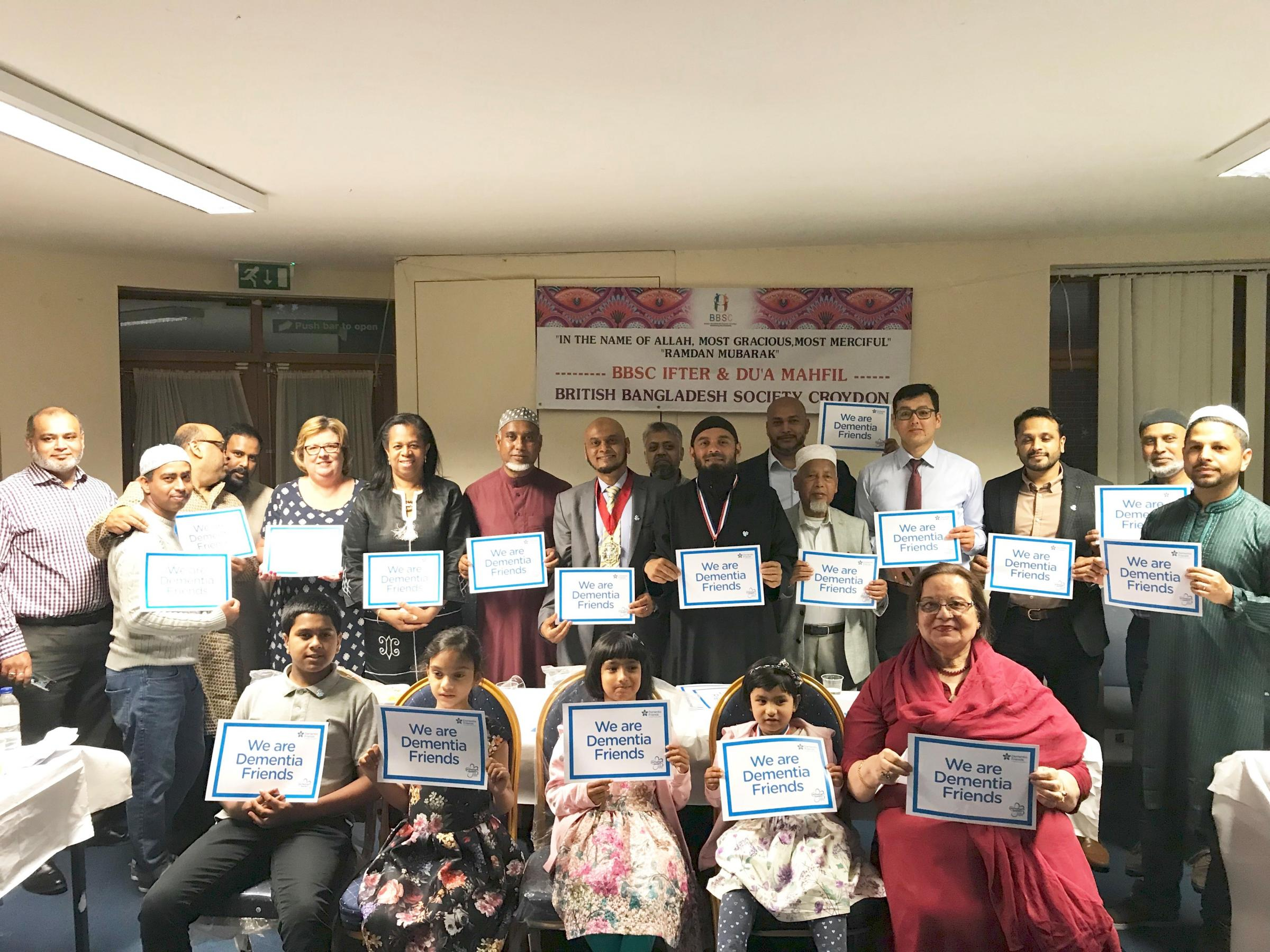 Community group hold 'Ramadan dementia friends'