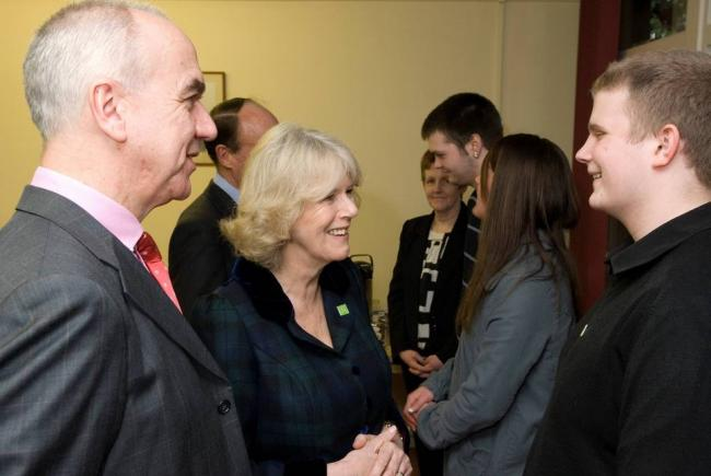 The Duchess of Cornwall visits Barnardo's