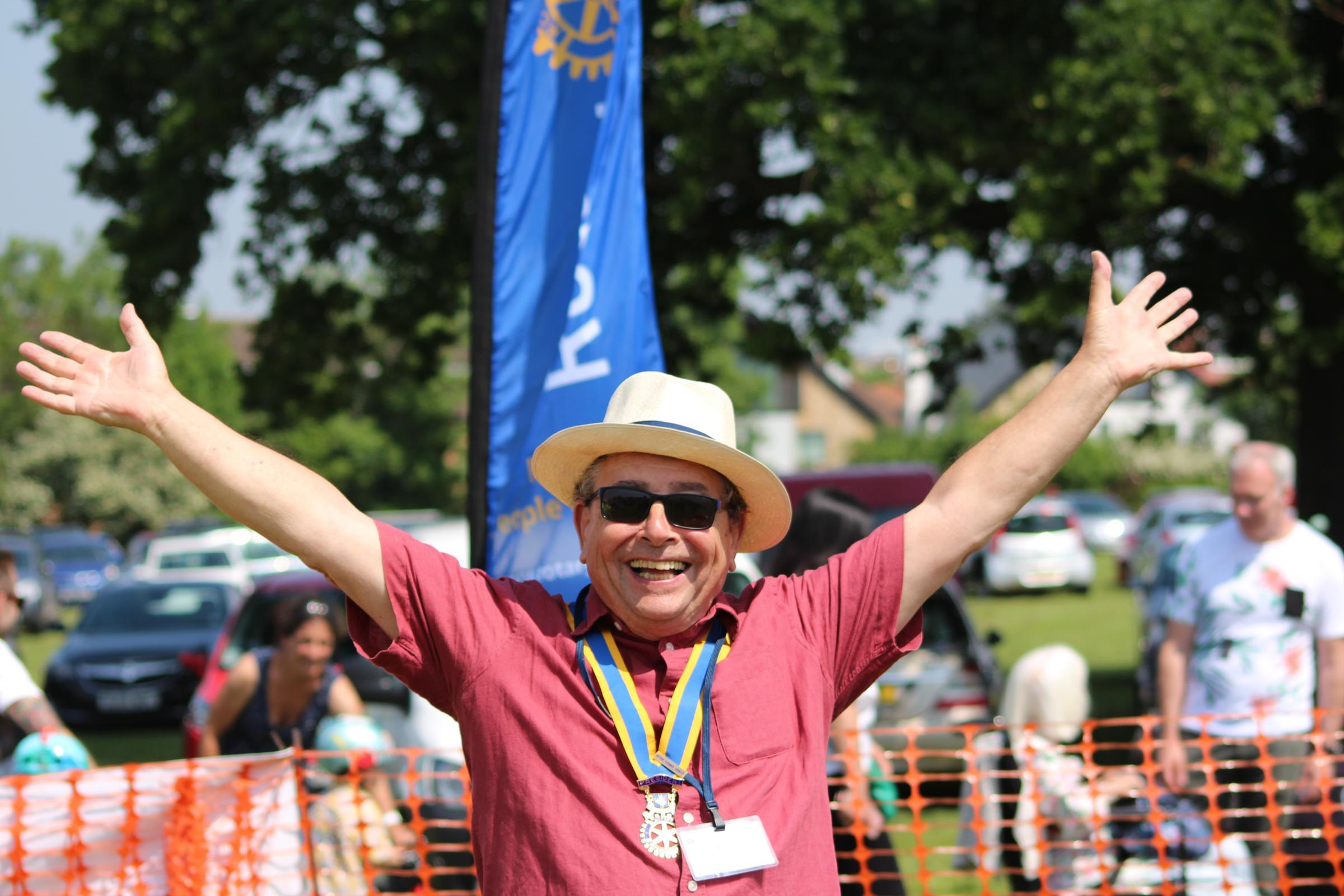 Photo: Mike Thorn / Cheam and Sutton Rotary Club