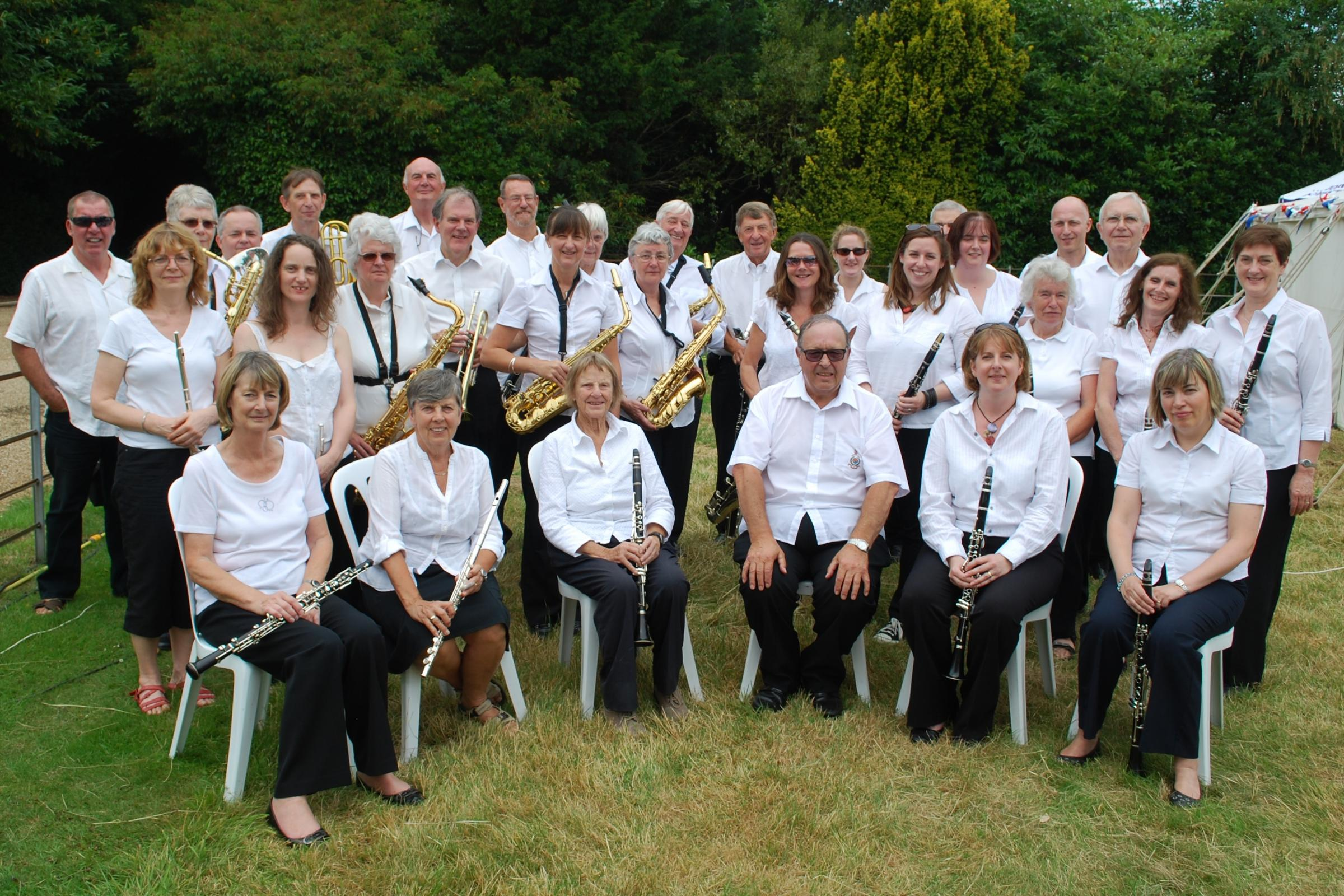 The band at a Chipstead sitting
