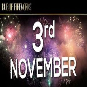 Ruislip and Hillingdon Fireworks 3rd November 2018 CELEBRATION OF CULTURE