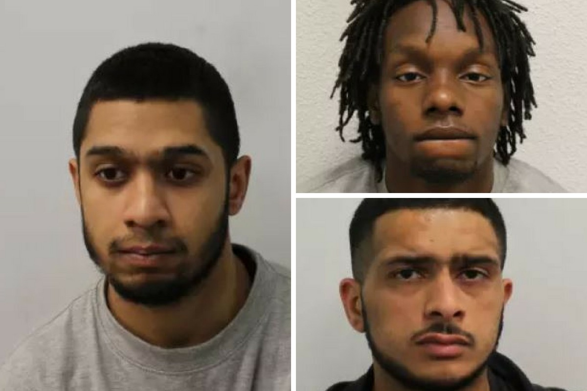 Three men convicted of setting a car alight used in the murder of Malachi Brooks