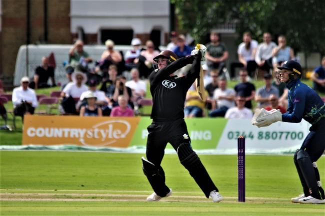 Jason Roy in action for Surrey earlier in the season. Picture: Mark Sandom