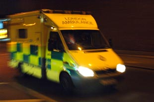 Ambulance crews refuse to enter Sutton homes without police