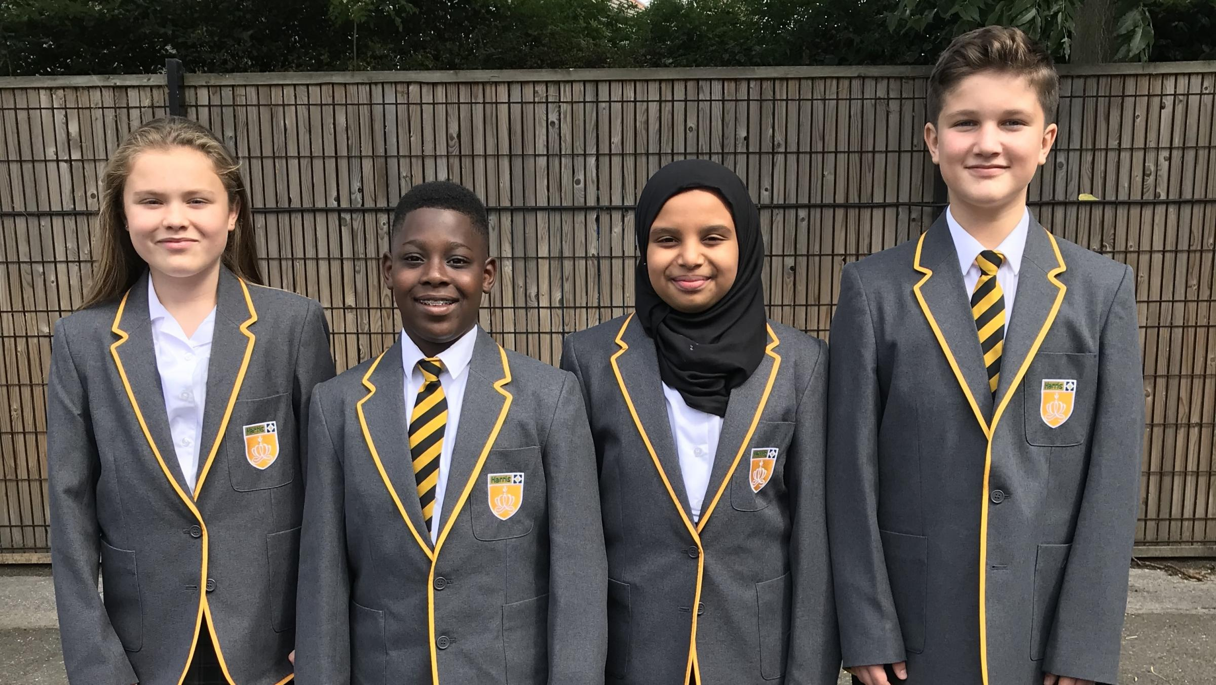 Harris Academy Wimbledon ushers in its first crop of students