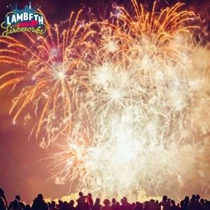 Lambeth Fireworks 2018, Brockwell Park, Norwood Road, London, SE24 9BJ