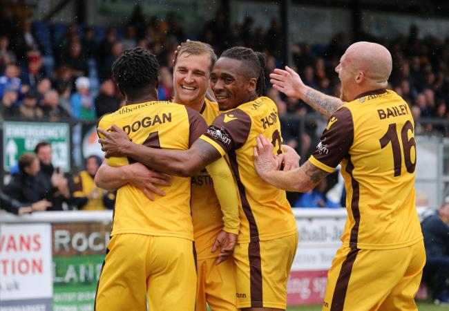 Sutton United are flying high in the National League this season. Picture: Paul Loughlin