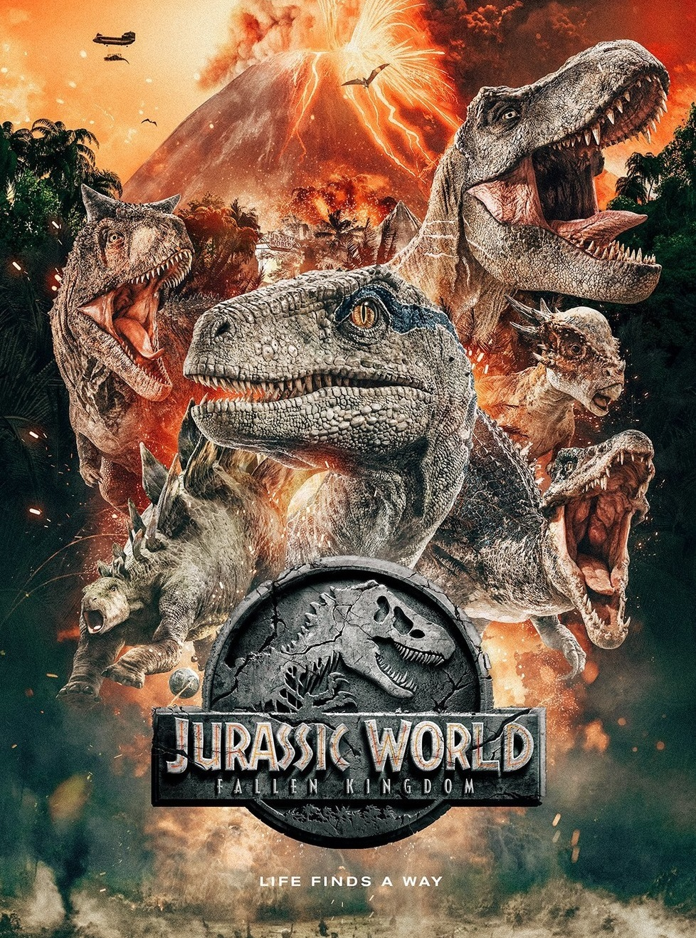 Cinema at The Halls: Jurassic World: Fallen Kingdom (12A)