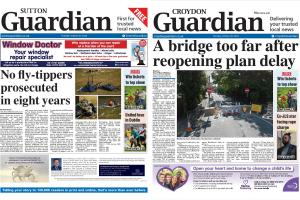 Find your nearest pick-up location for our Sutton Guardian and Croydon Guardian newspapers here >