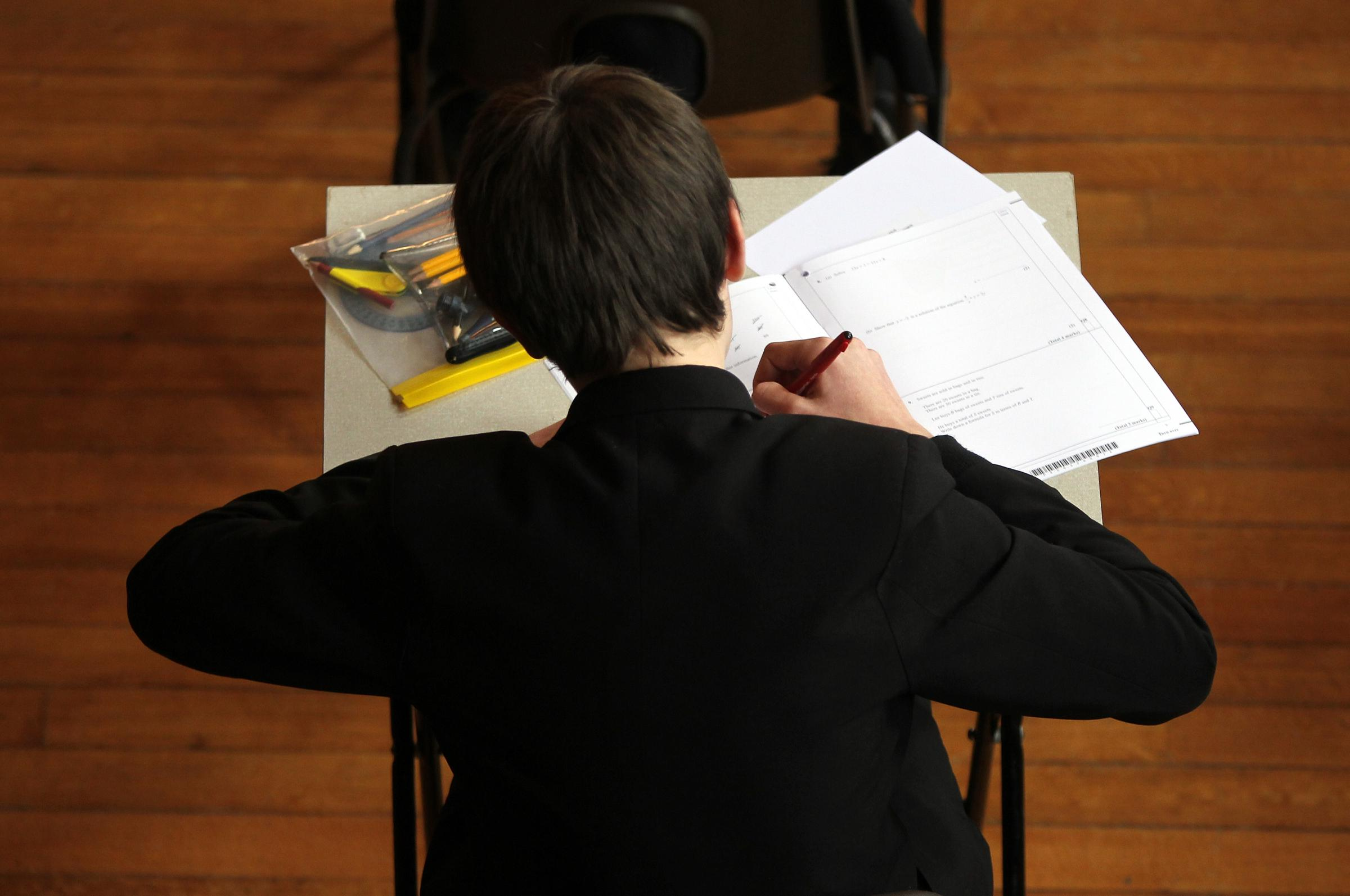Hundreds of Merton kids will be resitting exams next year after failing English and maths. Picture: David Davies/PA Wire