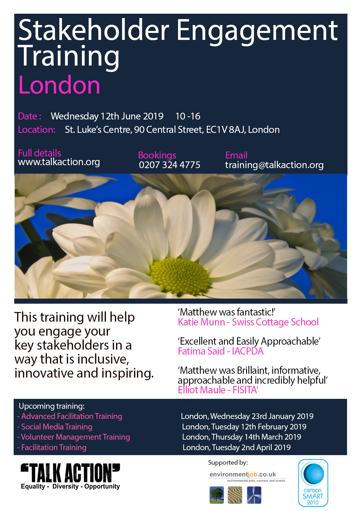 Stakeholder Engagement Training - London