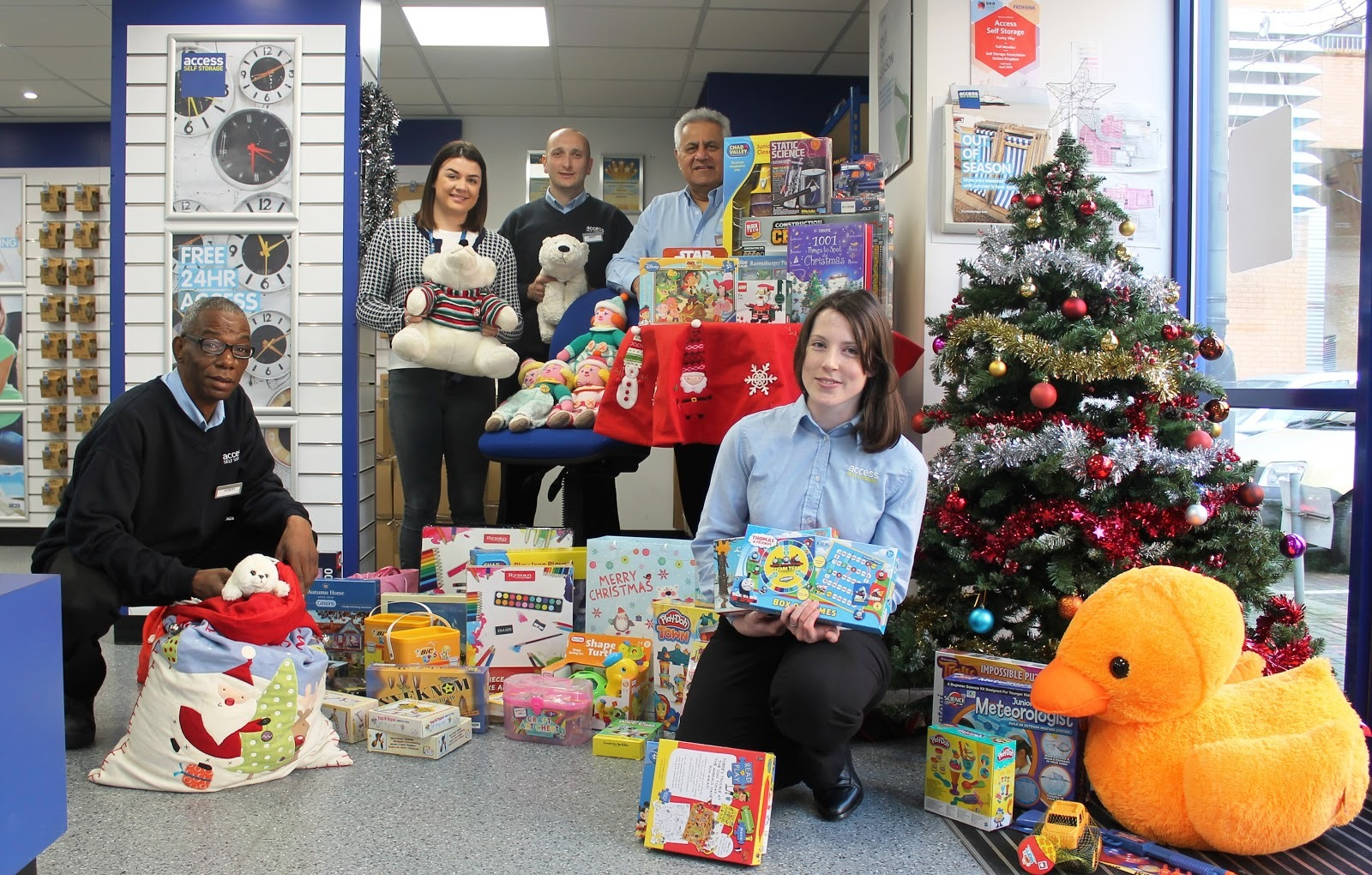 Access Self Storage Christmas Appeal