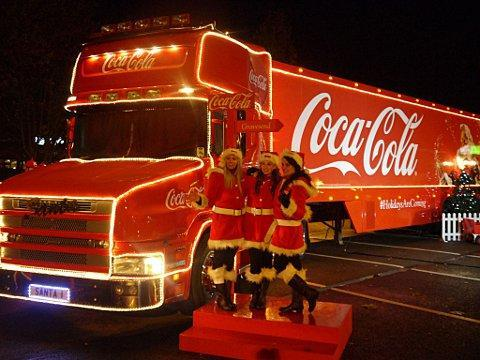 The Coca-Cola truck is coming to Croydon