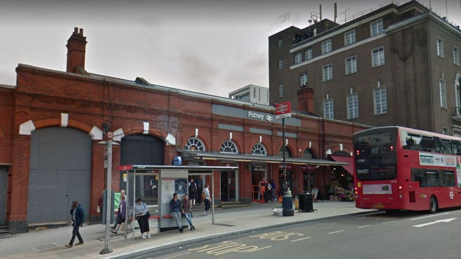 Man hit by train at Putney station