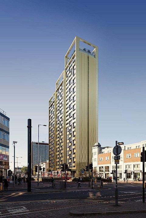 The planned St George's walk development
