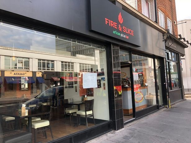 Fire and Slice, High Street, Croydon was given a zero star food hygiene rating.