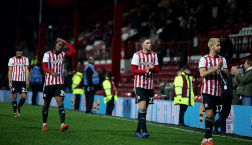 Brentford fell to a 3-2 defeat