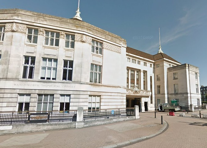 Wandsworth Town Hall (Photo: Google Maps)