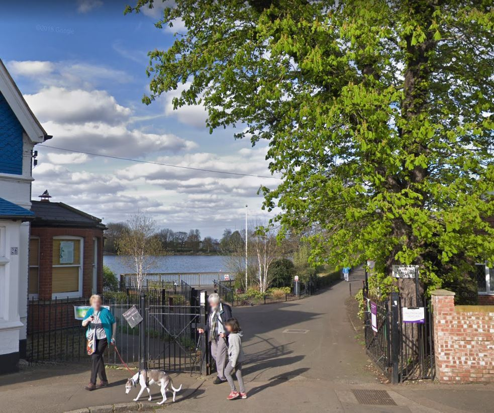 The body was found near South Norwood Lake.