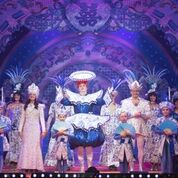 Standing ovation for stars of Aladdin