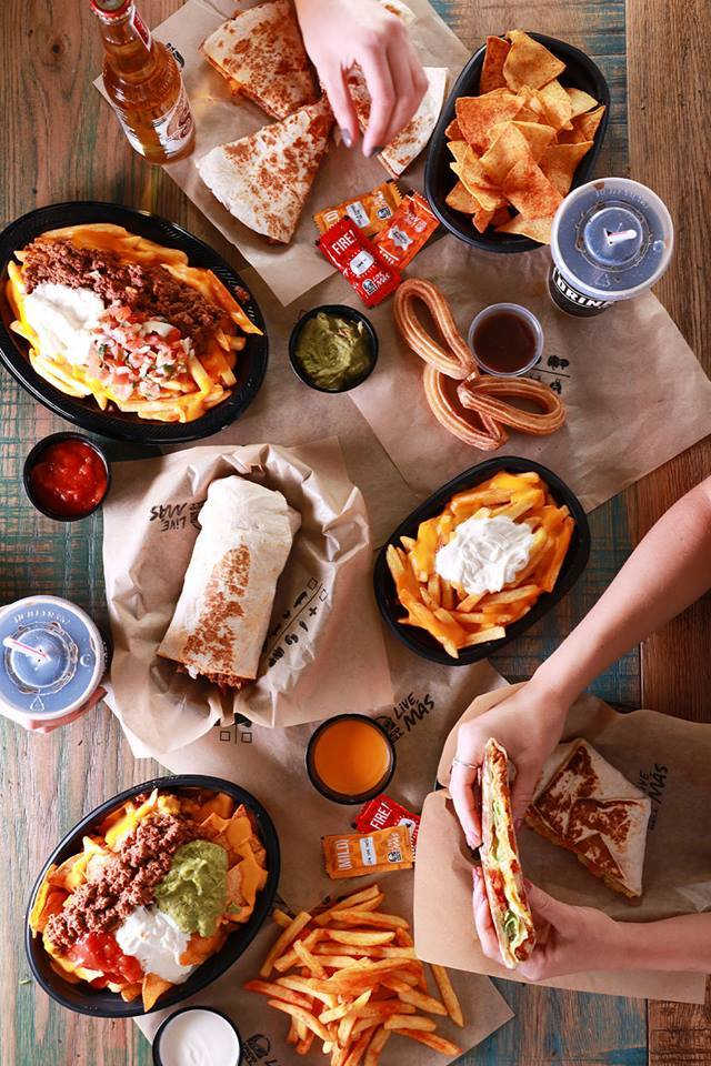 Taco Bell spread