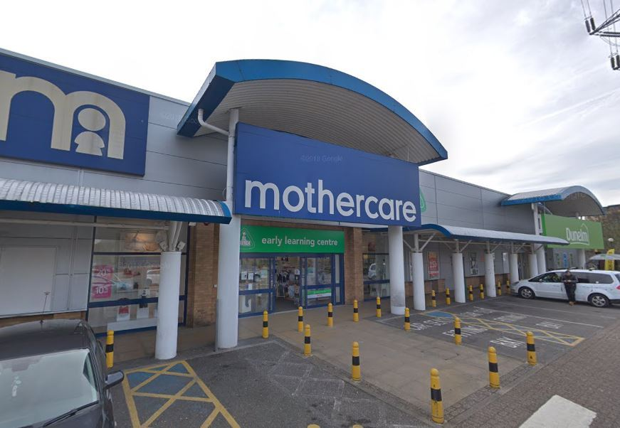 Mothercare in Colliers Wood announces closing down sale