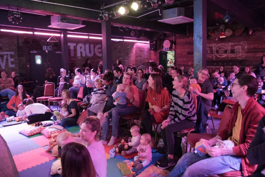 Bring Your Own Baby Comedy comes to Wimbledon