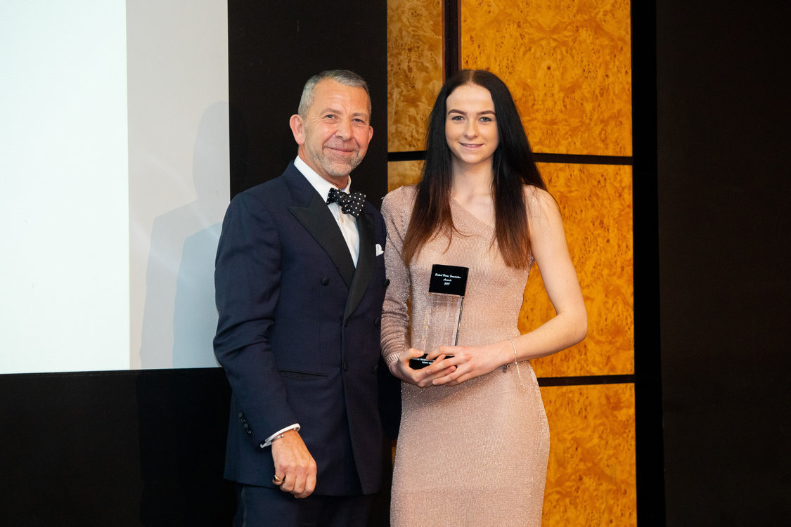 Poppy Zafia Graves, was announced as the winner of the 2018 Haddon Training British Grooms Apprentice Award
