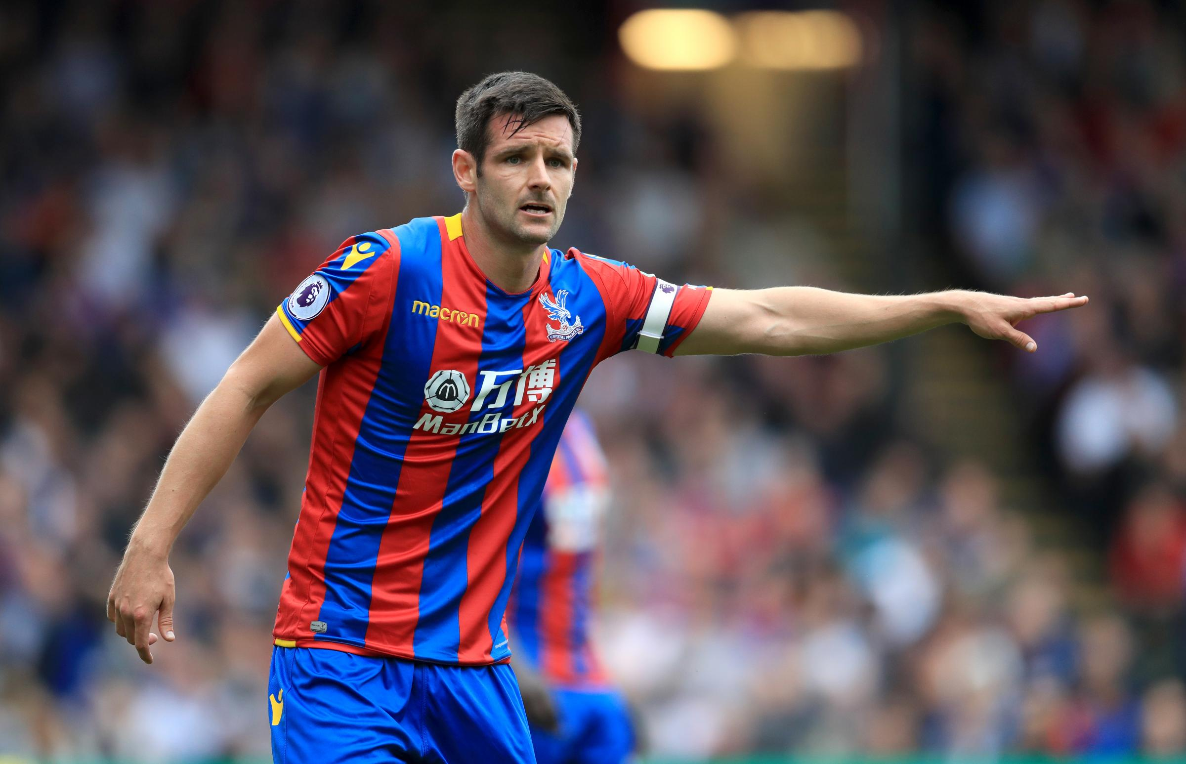 Crystal Palace's Scott Dann (Photo credit: Adam Davy/PA Wire.)
