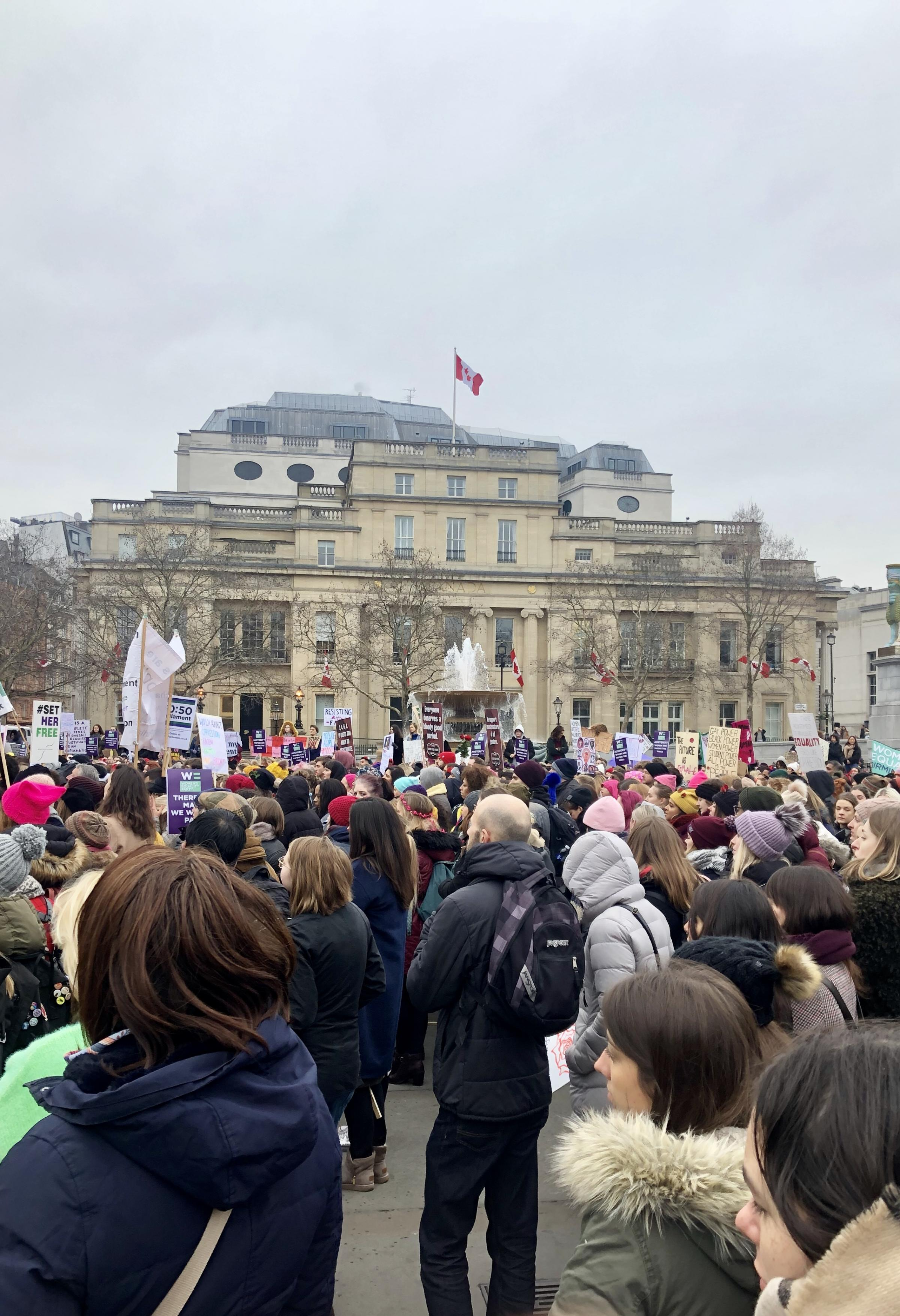 Low Turnout at the 2019 Women's March by Kate McKeough, Wimbledon High School