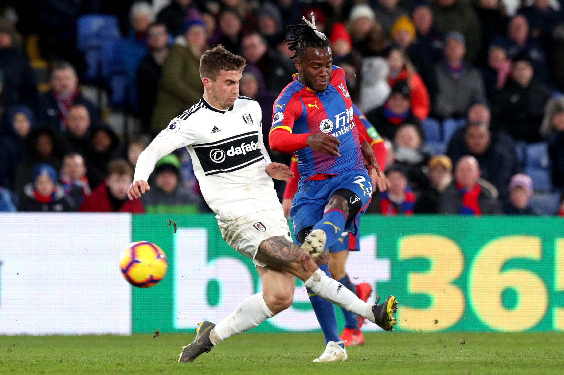 Michy Batshyui gave a taste of what he can bring to Selhurst Park. Credit: PA