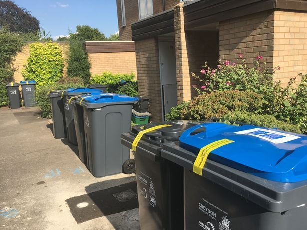 New bins have been rolled out in Croydon. Picture free for use without credit.