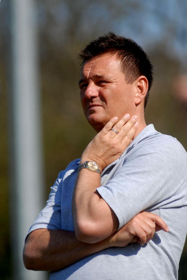Sutton United boss Paul Doswell