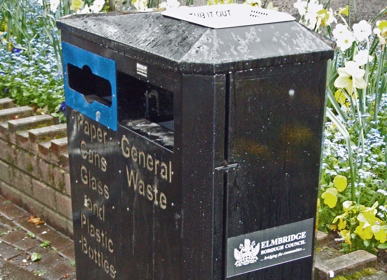 Elmbridge council said that most bins were now collected without complaint. Image: David Dawson via Flickr.com