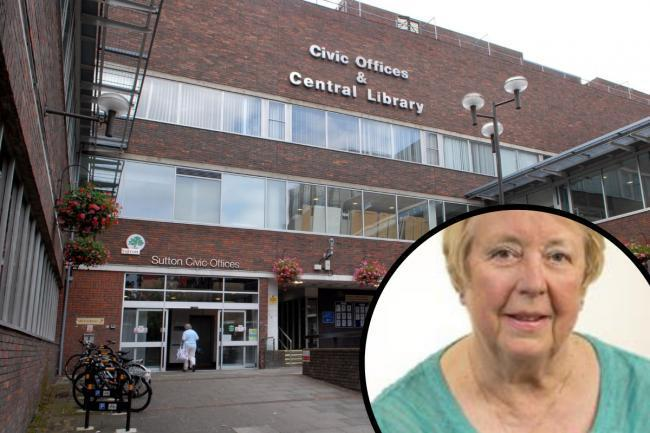 Cllr Joyce Melican (inset) has suffered a stroke while on holiday abroad. Photo: Sutton Council