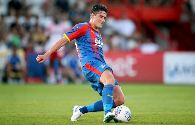 Crystal Palace's Martin Kelly during a pre season friendly match at Lamex Stadium, Stevenage