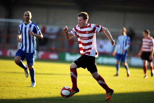 Tom Bird in action for Kingstonian during one of his previous spells with the club
