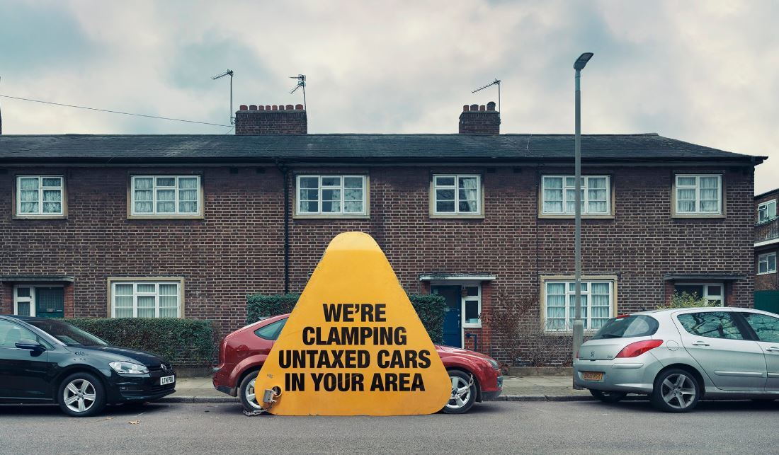 The DVLA are cracking down on untaxed vehicles