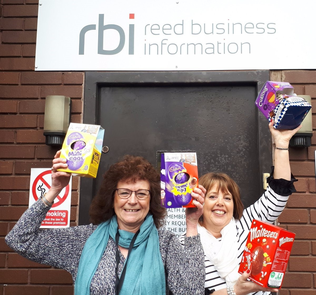 Julie Lever and Linda McPartlin of Reed Business Information