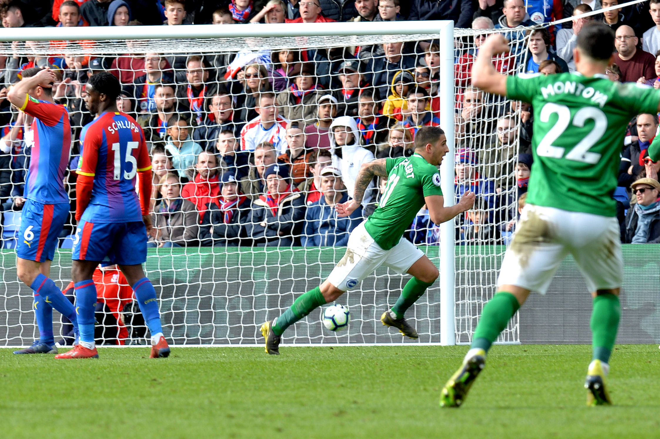 Report: Crystal Palace 1 Brighton 2 - Murray and Knockaert stunners sink Palace