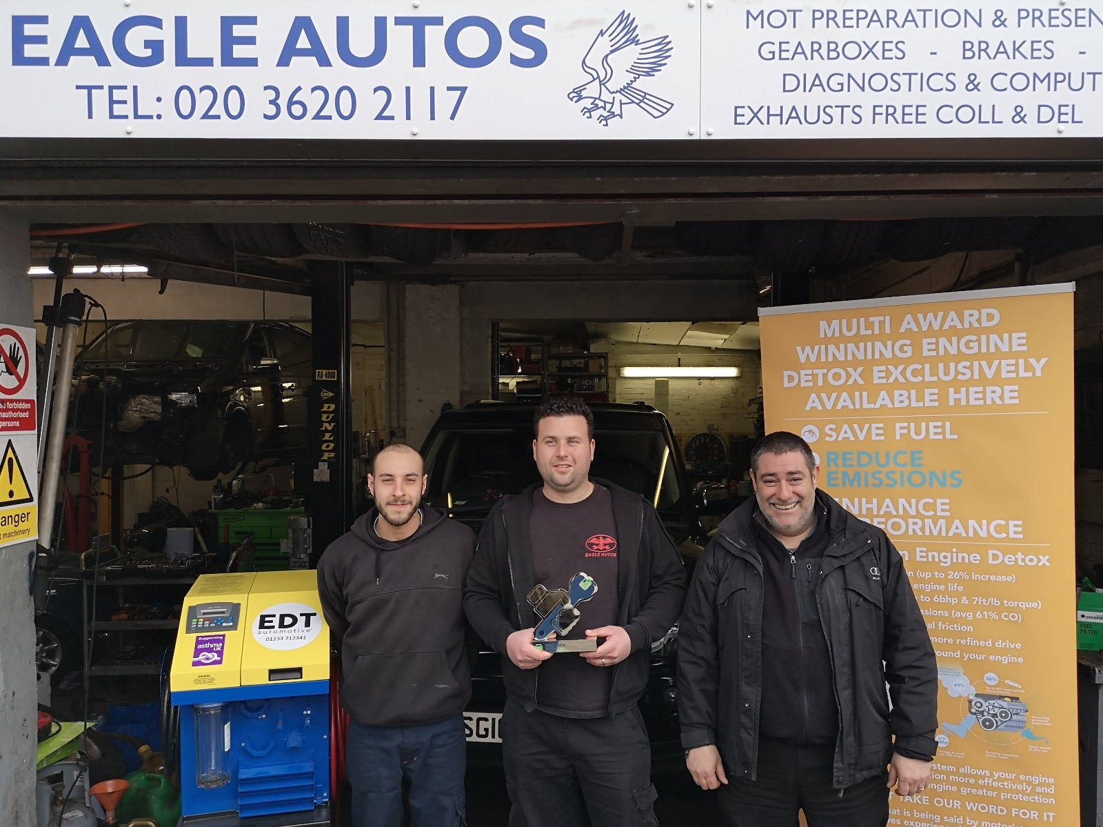 The team at Eagle Autos