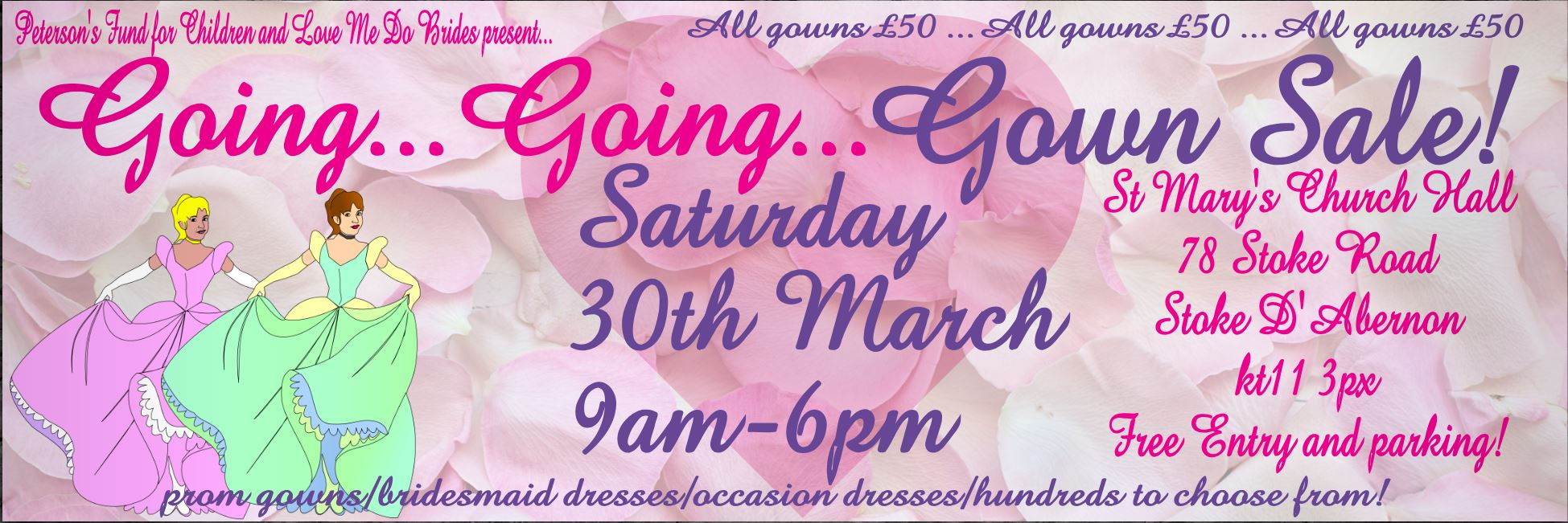 Going Going GOWN SALE!