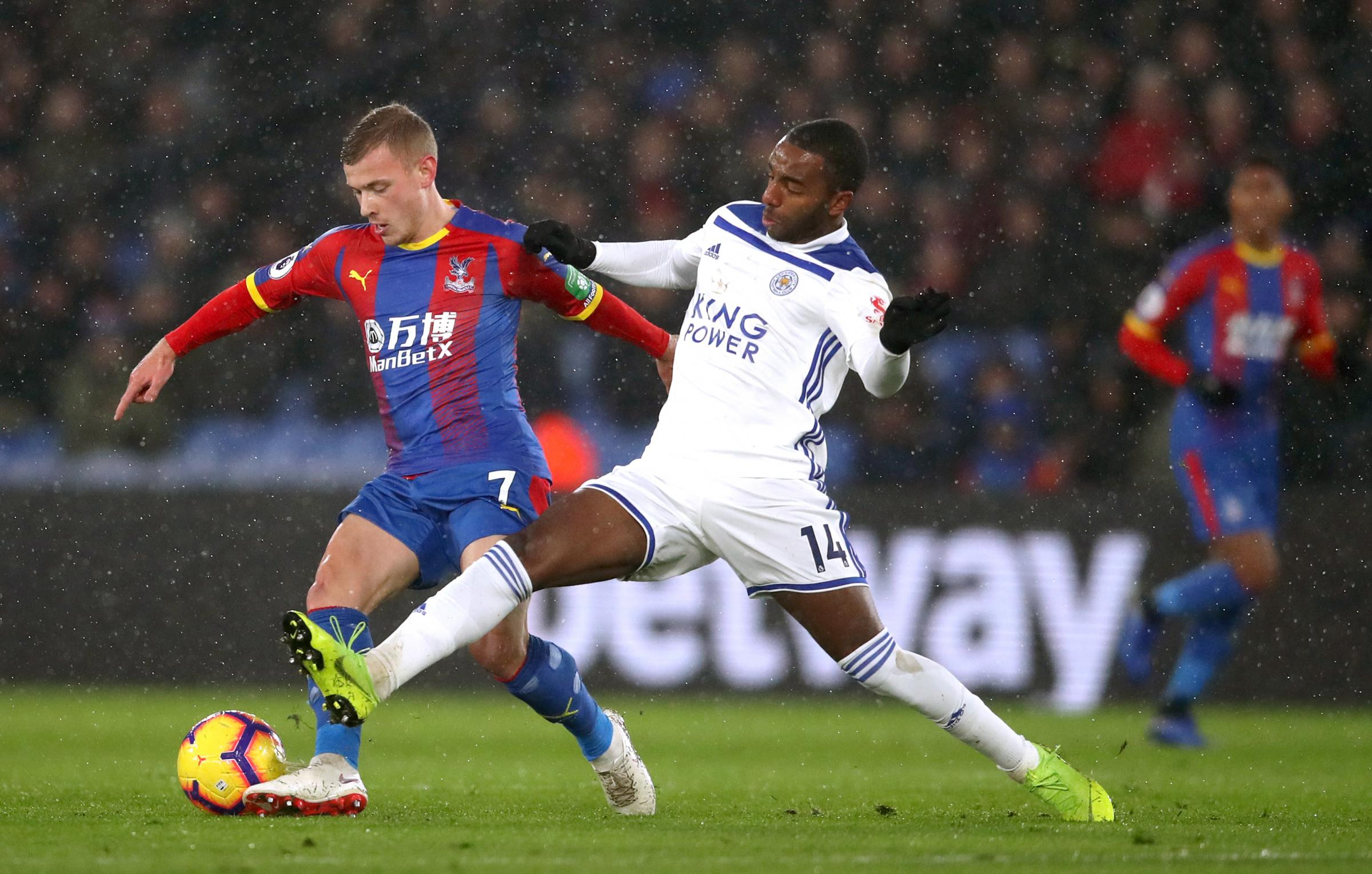 Crystal Palace's Max Meyer (left) (PA)
