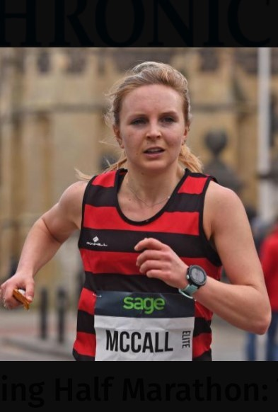 Steph McCall of Herne Hill Harriers