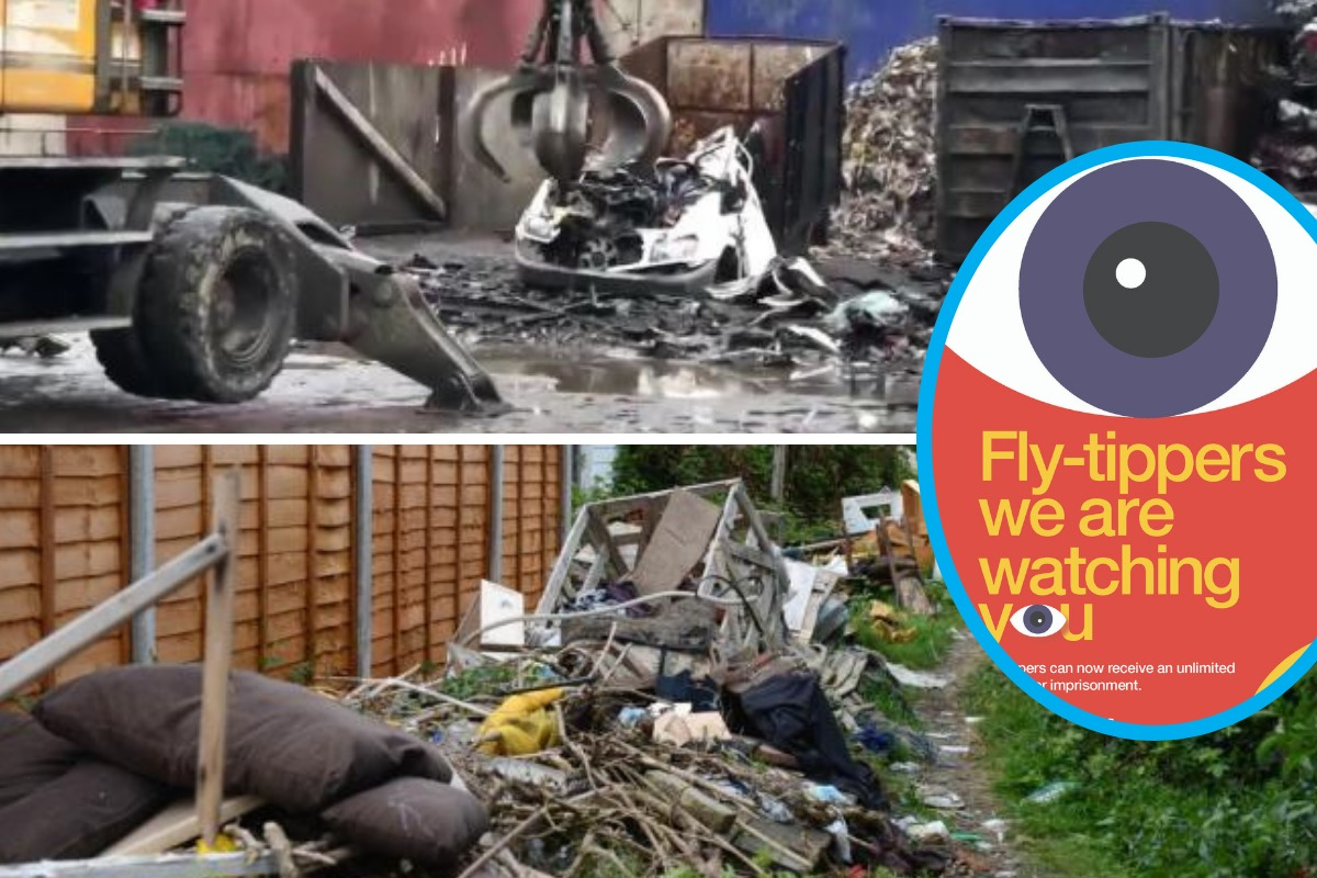 Merton Council warns fly-tippers 'we are watching you'