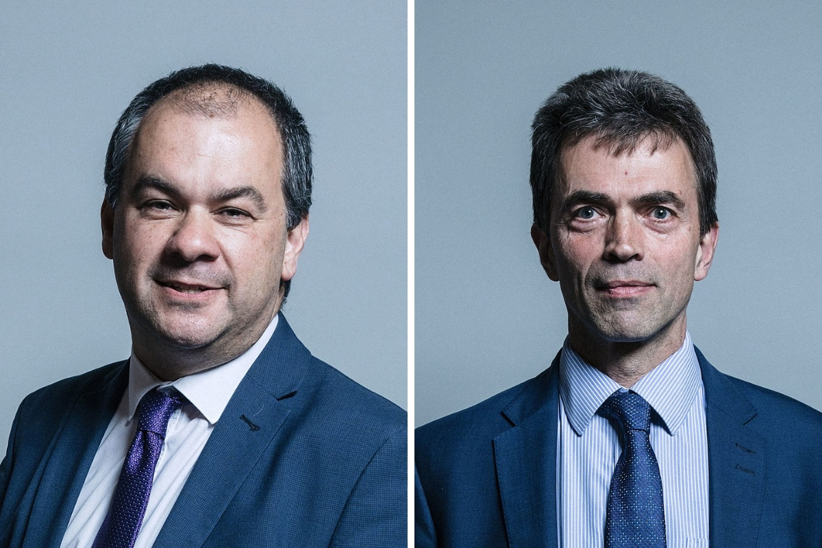 Paul Scully (Sutton and Cheam) and Tom Brake (Carshalton and Wallington)