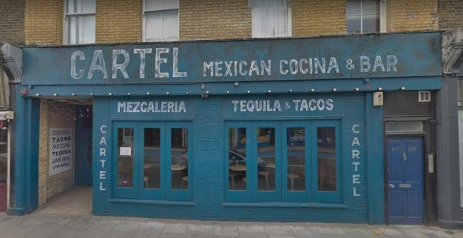 Cartel, Battersea Park Road (Photo: Google Streetview)