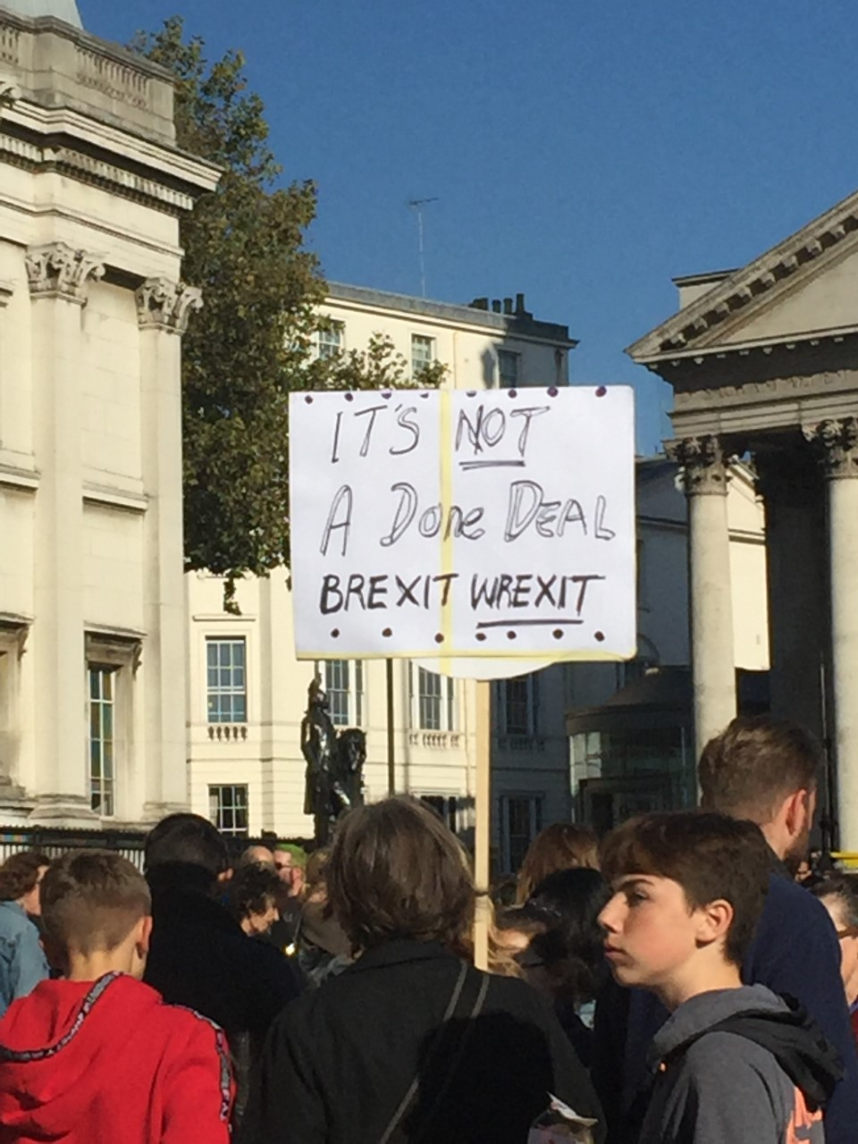 Brexit Wrexit by Sarah Daly, Ursuline High school